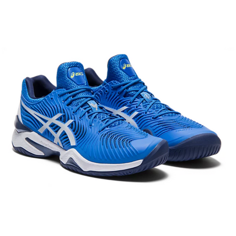 Asics Court FF Novak - Electric Blue/White