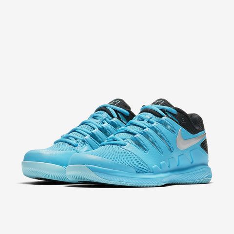 Nike Womens Air Zoom Vapor X light blue fury/multi