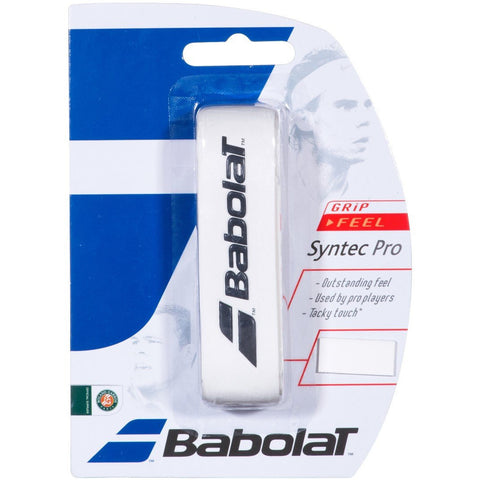 Babolat Syntec Pro Replacement Grip white