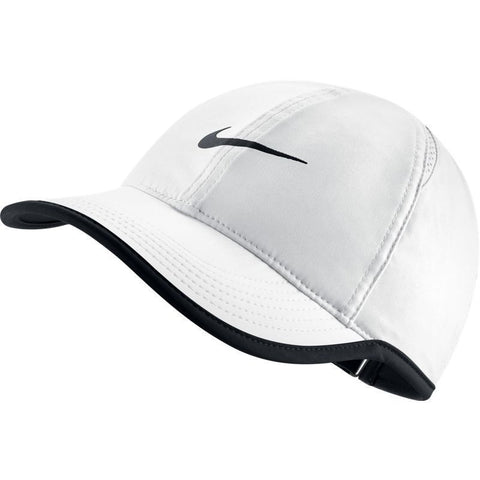Nike Womens Featherlight Cap white/black