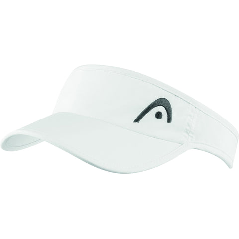 Head Womens Pro Player Sunvisor - White