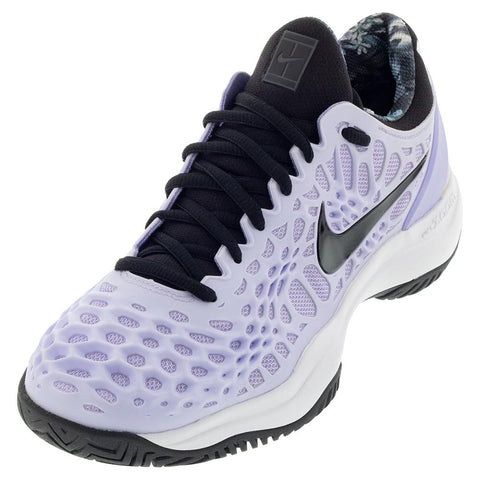 Nike Womens Air Zoom Cage 3 - Purple Agate/Black