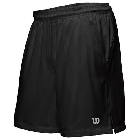 Wilson Mens Rush 9 inch Woven Short black