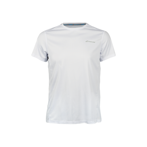Babolat Boys Core Flag Tee white