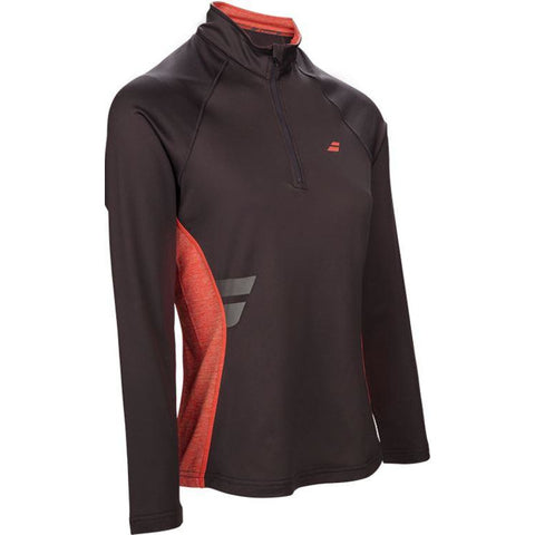 Babolat Womens Core Half Zip dark grey