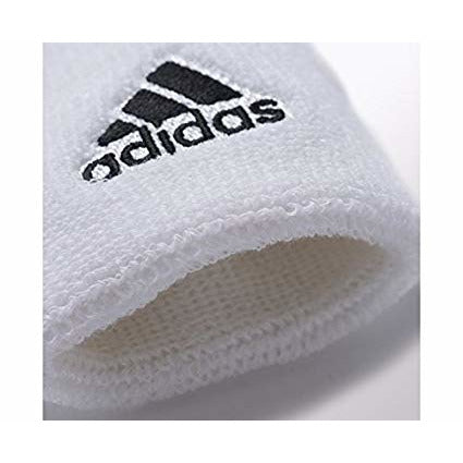 Adidas Wristband Small - White/Black