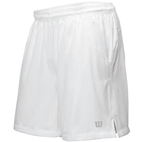 Wilson Mens Rush 9 inch Woven Short white
