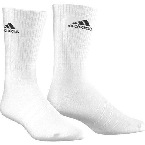 Adidas Performance Crew Sock white
