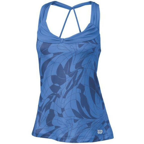 Wilson Womens Athletic Tank regatta