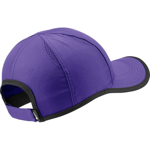 NikeCourt AeroBill Featherlight Cap - Psychic Purple/White