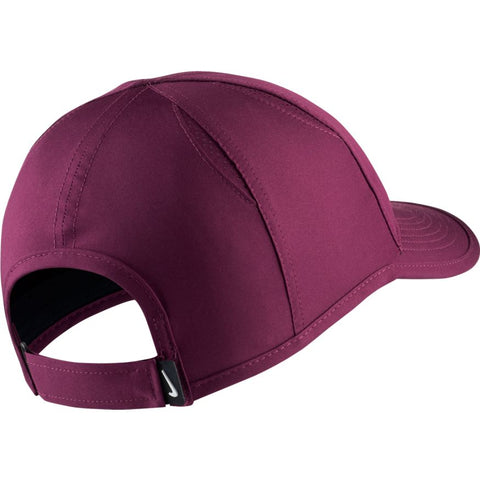 Nike Womens Featherlight Cap bordeaux/white