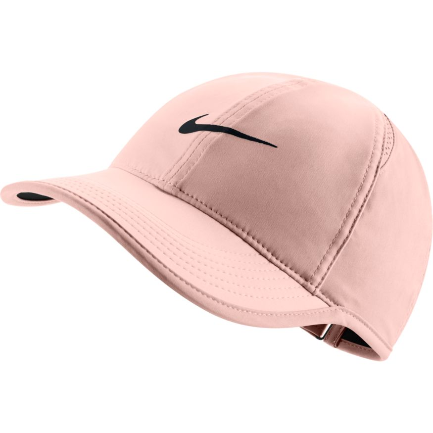 the best attitude 5aacd 4f615 Nike Womens Aerobill Featherlight Cap crimson