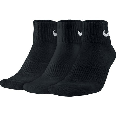 Nike Performance Quarter Sock 3 Pack black