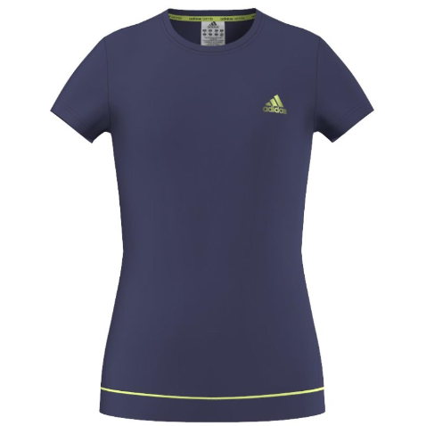 Adidas Girls Galaxy Tee blue