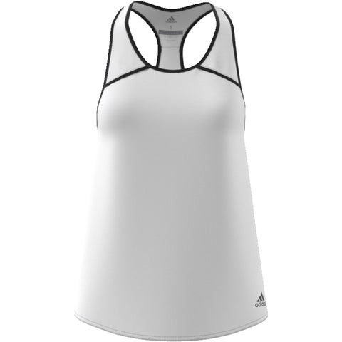 Adidas Womens Club Tank white/black