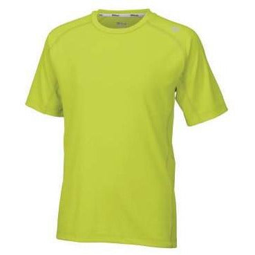Wilson Boys Embossed Crew lime