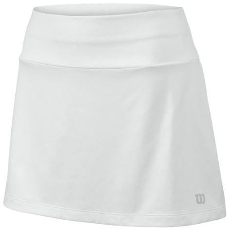 Wilson Girls Core 11 inch Skirt white