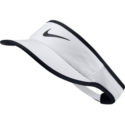 Nike Womens Featherlight Visor white/black