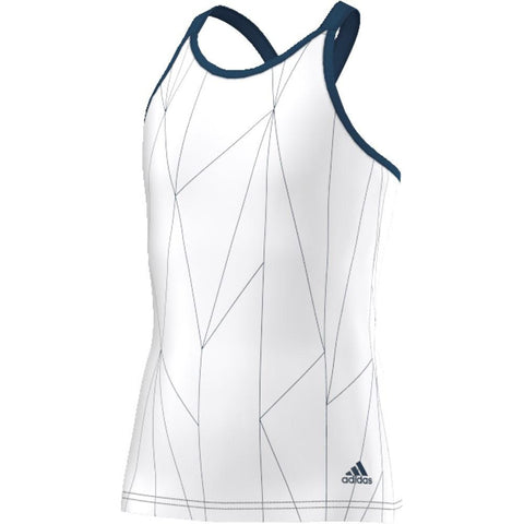 Adidas Girls Multifaceted Club Tank white/steel