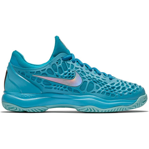 Nike Womens Zoom Cage 3 blue fury/metallic silver