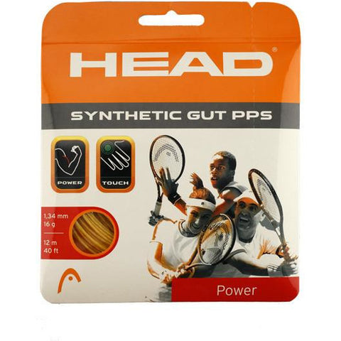 Head Synthetic Gut PPS 16 Gold Tennis Strings