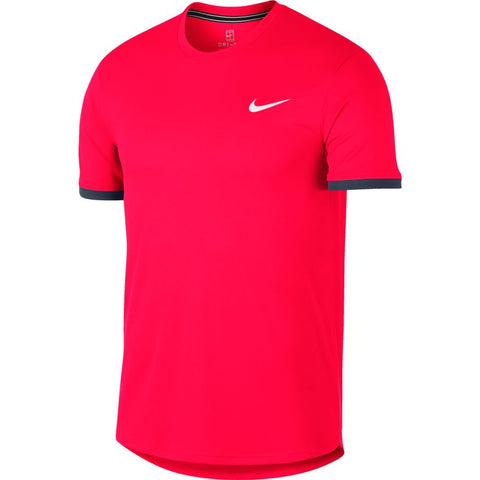 Nike Court Dry Top bright/crimson/gridiron/white