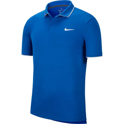 Nike Court Dry Polo Team - Game Royal/White
