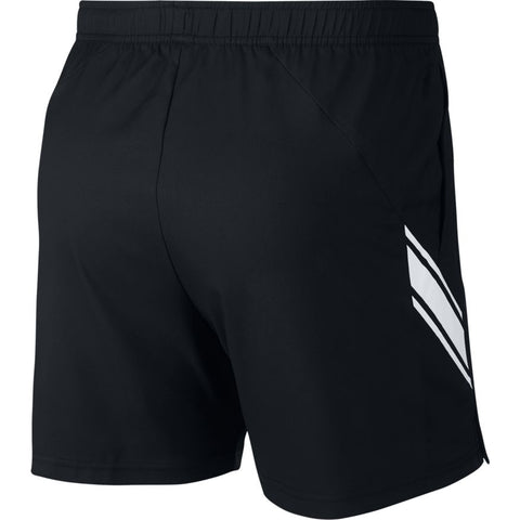 NikeCourt Dri-Fit Mens 7inch Short - Black/White