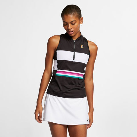 NikeCourt Dri-FIT Power Slam - Black/White
