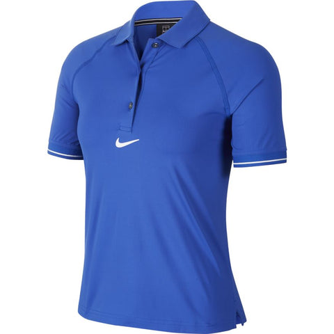 Nike Womens Court Polo - Game Royal/White