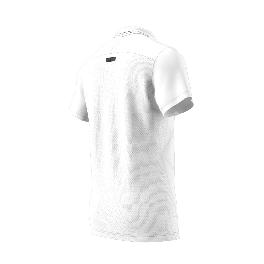 Adidas Adidas White Engineered Polo Barricade Engineered Polo Barricade White Adidas 4wSTxx