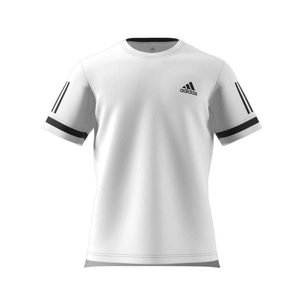 adidas Club 3 Stripe Tee Shirt