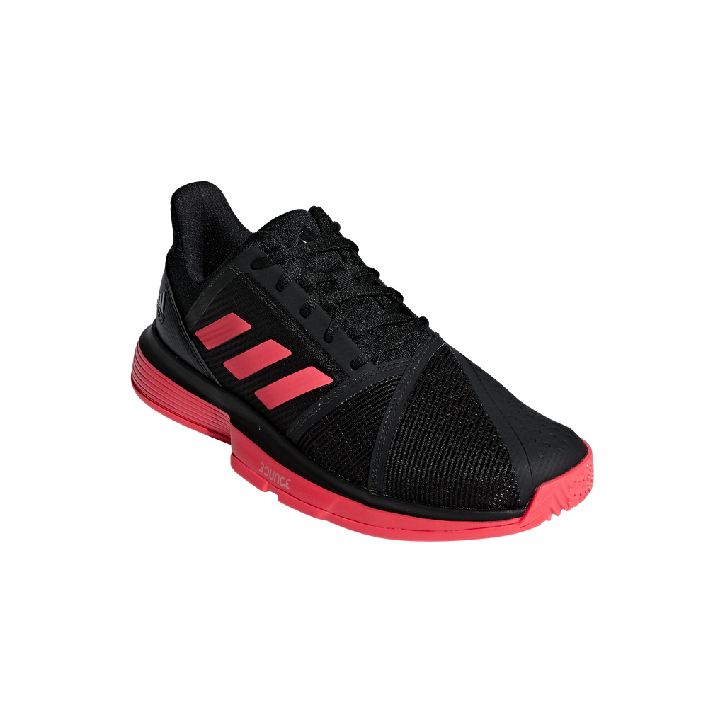 Adidas Court Jam Bounce black shock-red white 53274b5a2