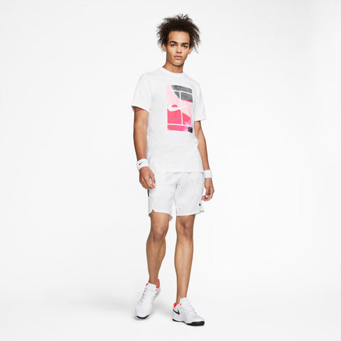 NikeCourt Tee Court SSNL - White