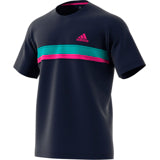 Adidas Club Colour Block Tee legend/ink