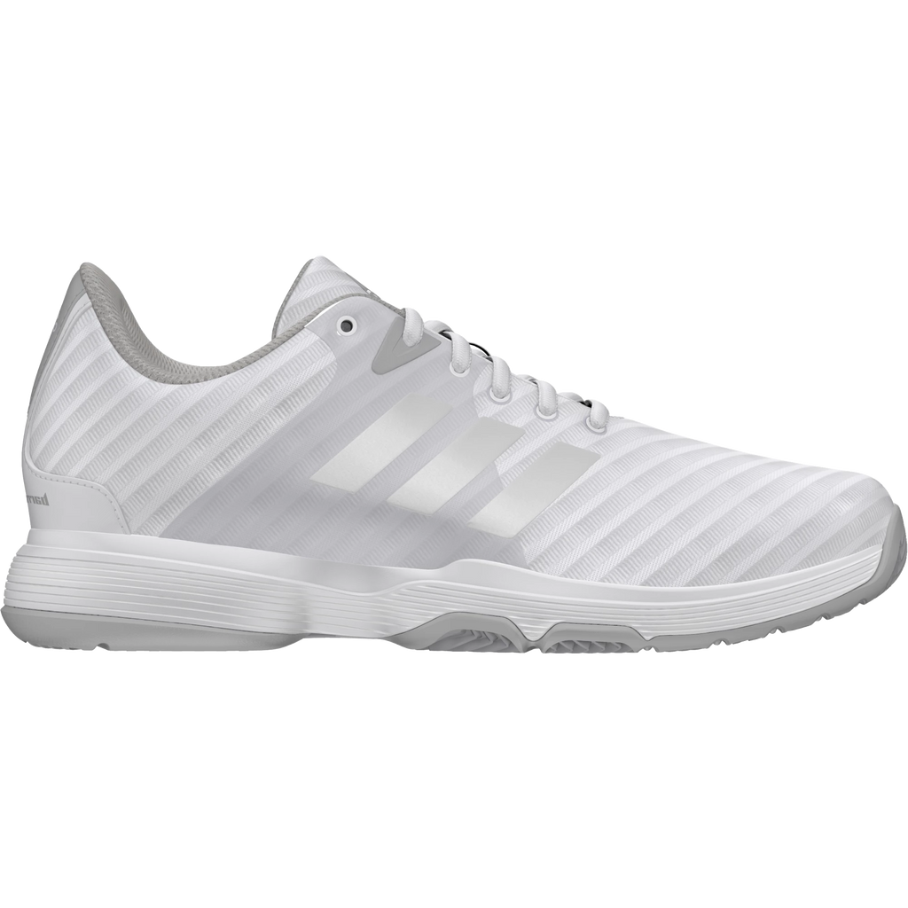 c789d8be47fcac Adidas Womens Barricade Court white silver 2018