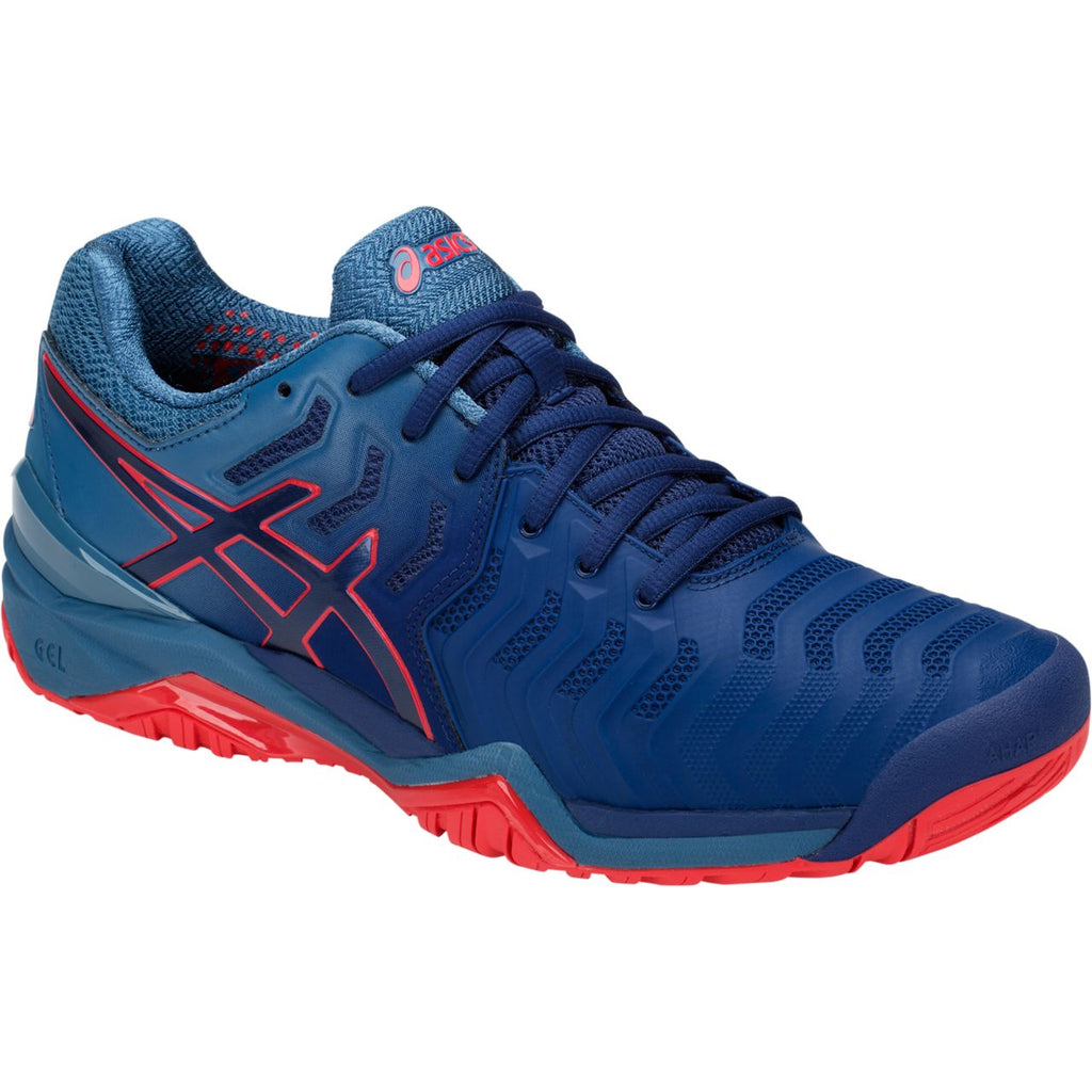 84c4c88e93367c Asics Gel Resolution 7 blue red