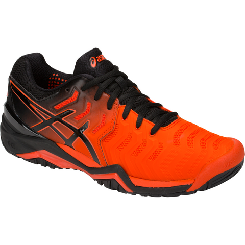 Asics Gel Resolution 7 cherry tomato/black