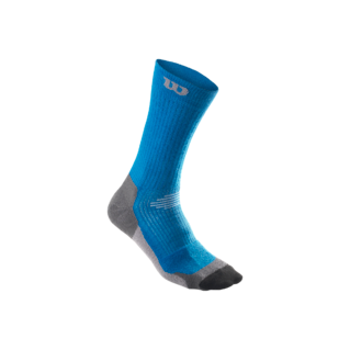 Wilson High-End Crew Sock - Blue/Grey