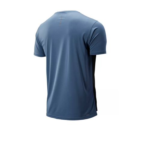 New Balance Accelerate SS Tee - Chambray