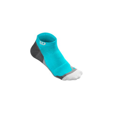 Wilson Womens High-End Low Cut Sock blue/curacao