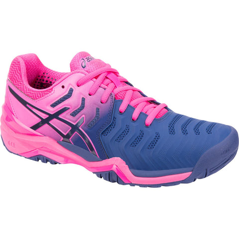 Asics Gel Resolution 7 blue/pink