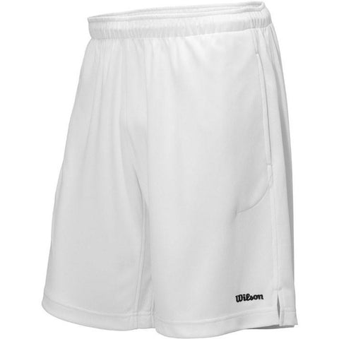 Wilson Mens 9 Knit Short white