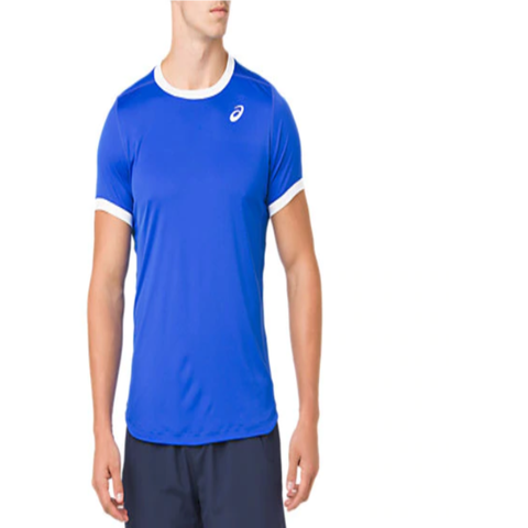 Asics Club SS Top - Illusion Blue