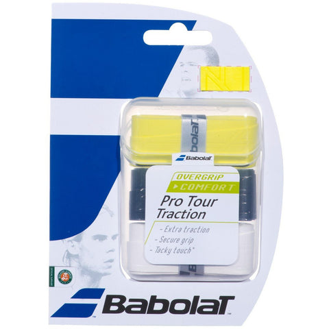 Babolat Pro Tour Traction Overgrip 3 Pack assorted