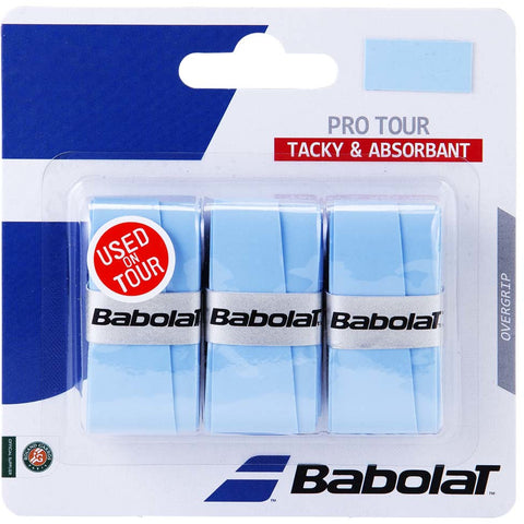 Babolat Pro Tour Overgrip 3 Pack blue