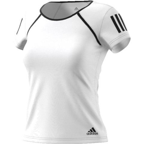 Adidas Womens Club Tee white/black