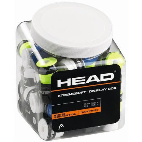 Head Xtreme Soft Overgrip Jar 60 Pack