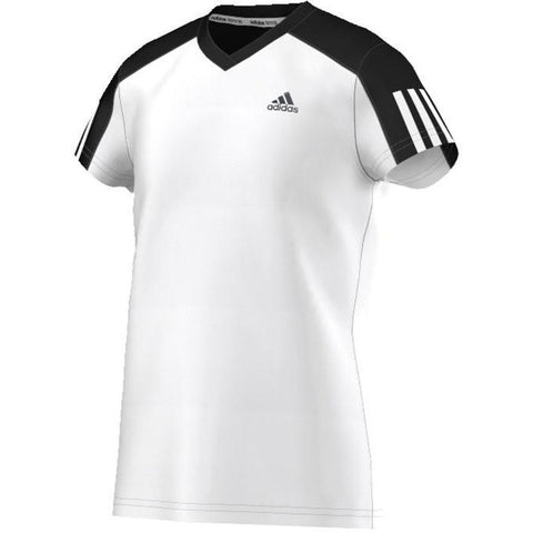 Adidas Girls Club Tee white/black