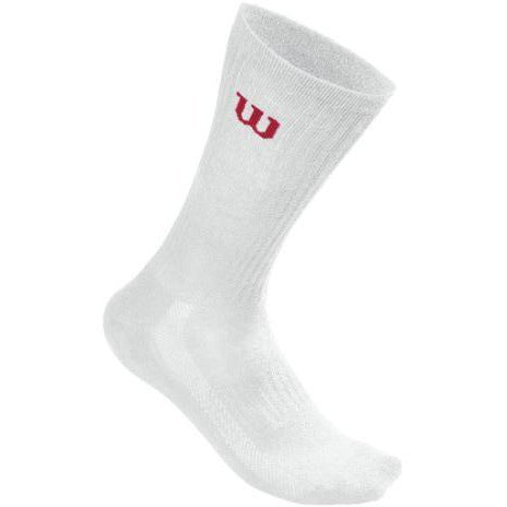 Wilson Crew Sock 3 Pack white